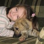 dog & child 2